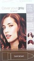 IRENE GARI Cover Your Gray Stick for Women DARK BROWN 0.15oz/4.2g by Irene Gari [並行輸入品]