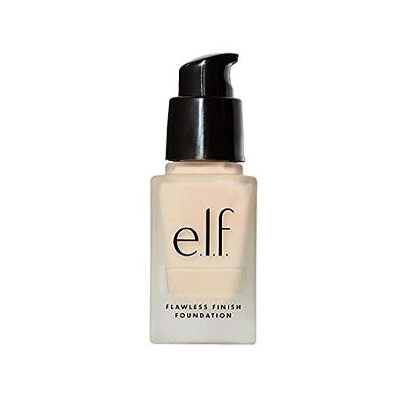 反対した値タイプ[Elf ] エルフ。完璧な仕上げ基盤真珠 - e.l.f. Flawless Finish Foundation Pearl [並行輸入品]