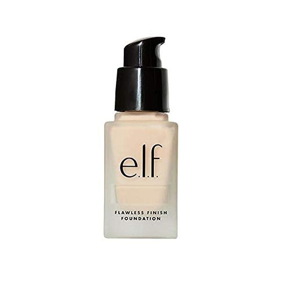 美人出発する小学生[Elf ] エルフ。完璧な仕上げ基盤真珠 - e.l.f. Flawless Finish Foundation Pearl [並行輸入品]