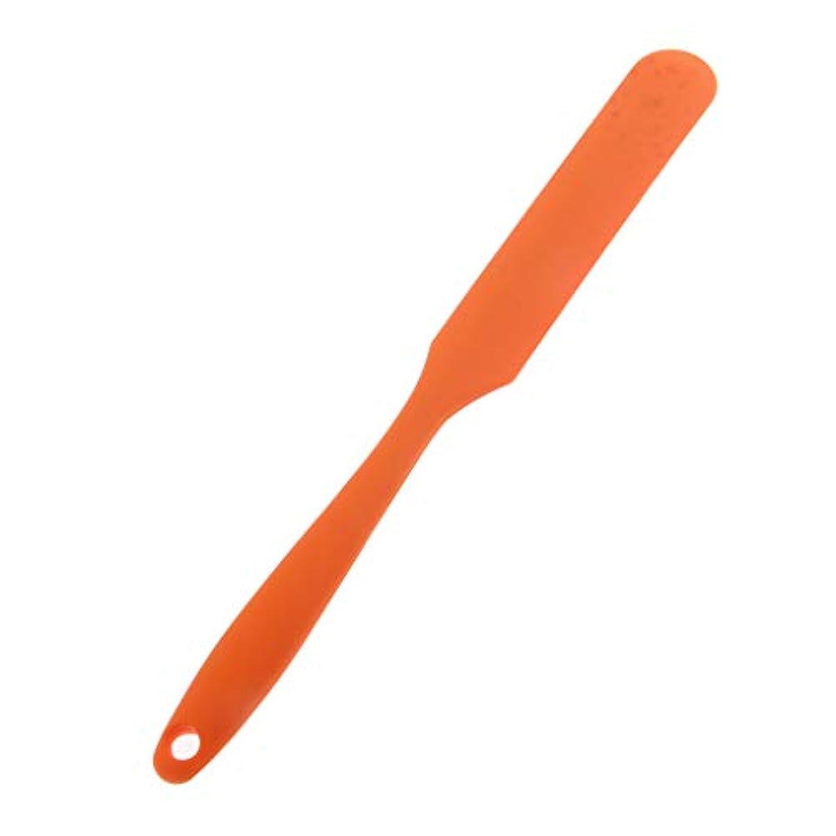 平手打ちのぞき見取るヘアカラーボード 理髪師 染料ボード 5色選べ - オレンジ