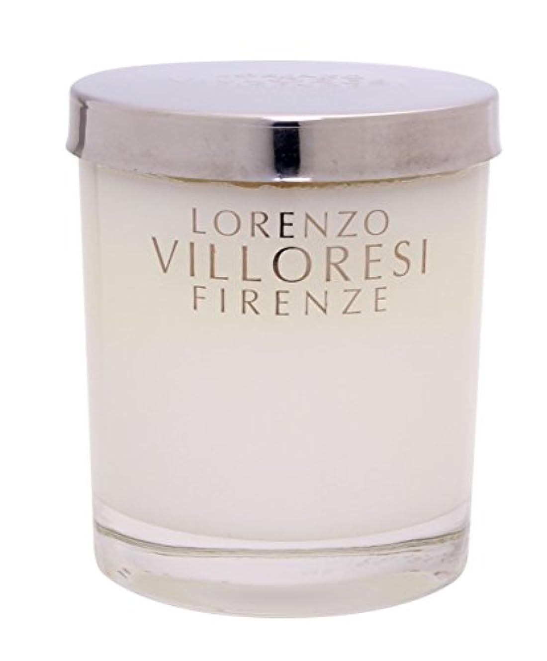 鉛筆不屈よく話されるLORENZO VILLORESI キャンドル タンドネージュ 200mL