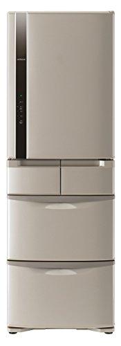 日立 冷蔵庫 401L 5ドア ソフトブラウン R-K42F T