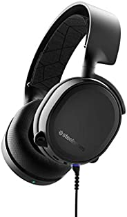 SteelSeries Arctis 3 Bluetooth - Wired and Wireless Gaming Headset - for Nintendo Switch, PC, PlayStation 4, X