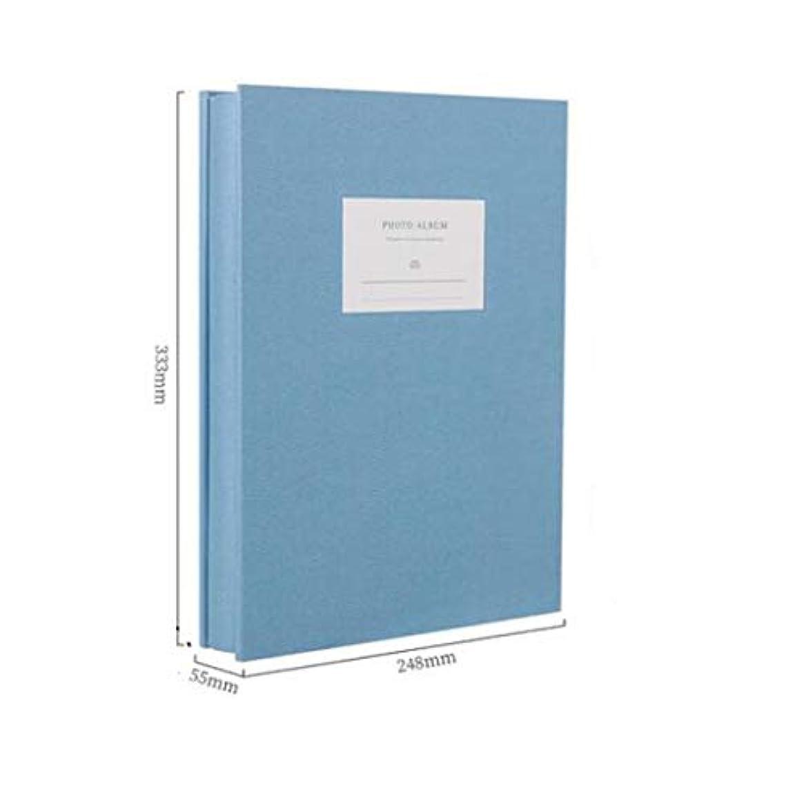 スクリーチ確執熟練したJFYHZ 5インチアルバムアルバム、家族の写真アルバム、フォトアルバムバルク、涙 (Color : Blue)