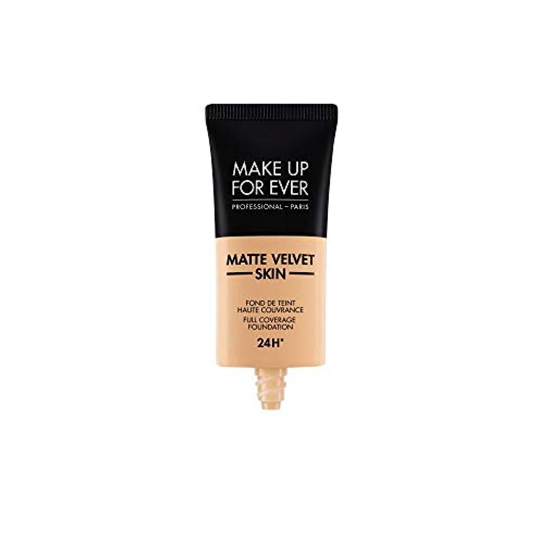 混合したゴムショップメイクアップフォーエバー Matte Velvet Skin Full Coverage Foundation - # Y305 (Soft Beige) 30ml/1oz並行輸入品
