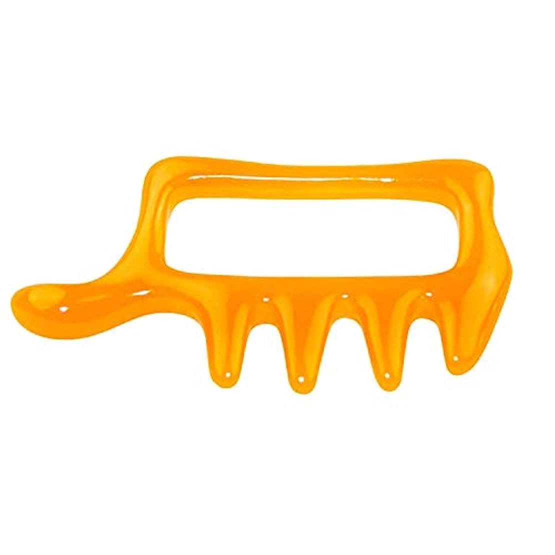 湿度小数豊かなカッサ ツボ押し棒 いいね形 洗える刮?プレート 持ちやすく押しやすい特殊な形 背中?首筋を女性でも強く指圧 岩盤浴や入浴中にも使えるマッサージ棒