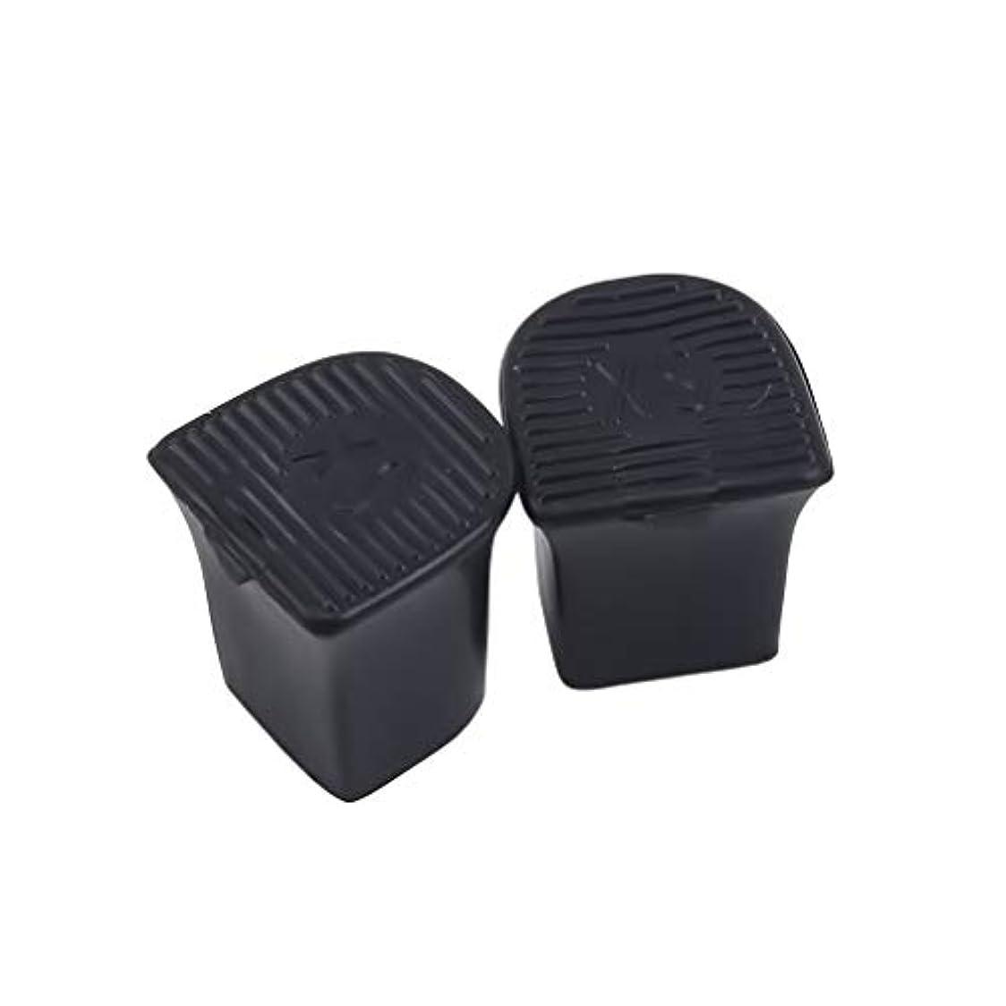 フォーク出費チップMODMHB 5ペアセット ハイヒールプロテクター ヒールカバー PVC製 ダンスシューズ ヒールキャップ 専用 滑り止め,9-10mm直径