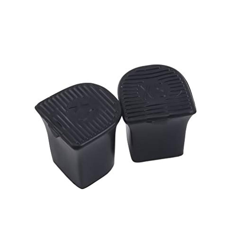 黒板楽な尋ねるMODMHB 5ペアセット ハイヒールプロテクター ヒールカバー PVC製 ダンスシューズ ヒールキャップ 専用 滑り止め,9-10mm直径