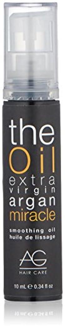悪意のある鉛不公平AG Hair オイルスムージングオイルスムース 0.34 fl。オンス ブラック