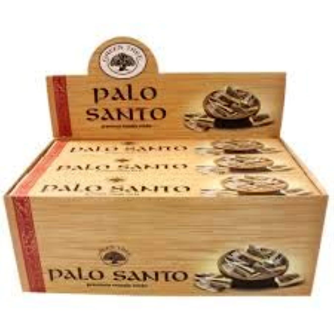 ヘリコプター夜アッパーGREEN TREE PALO SANTO パロサント 聖なる樹 お香 スティック 約15本入 (1箱) [並行輸入品]
