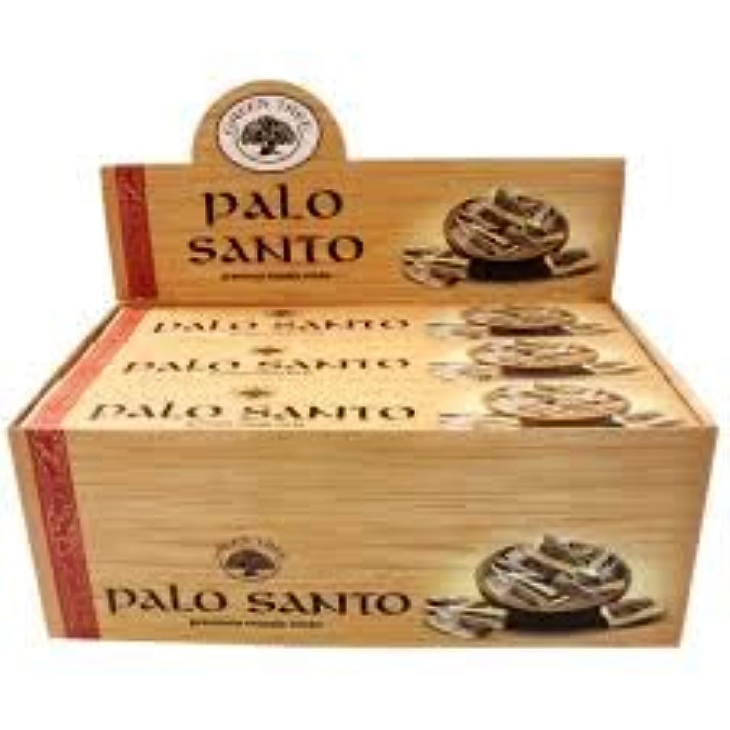 狂うひまわりGREEN TREE PALO SANTO パロサント 聖なる樹 お香 スティック 約15本入 (1箱) [並行輸入品]