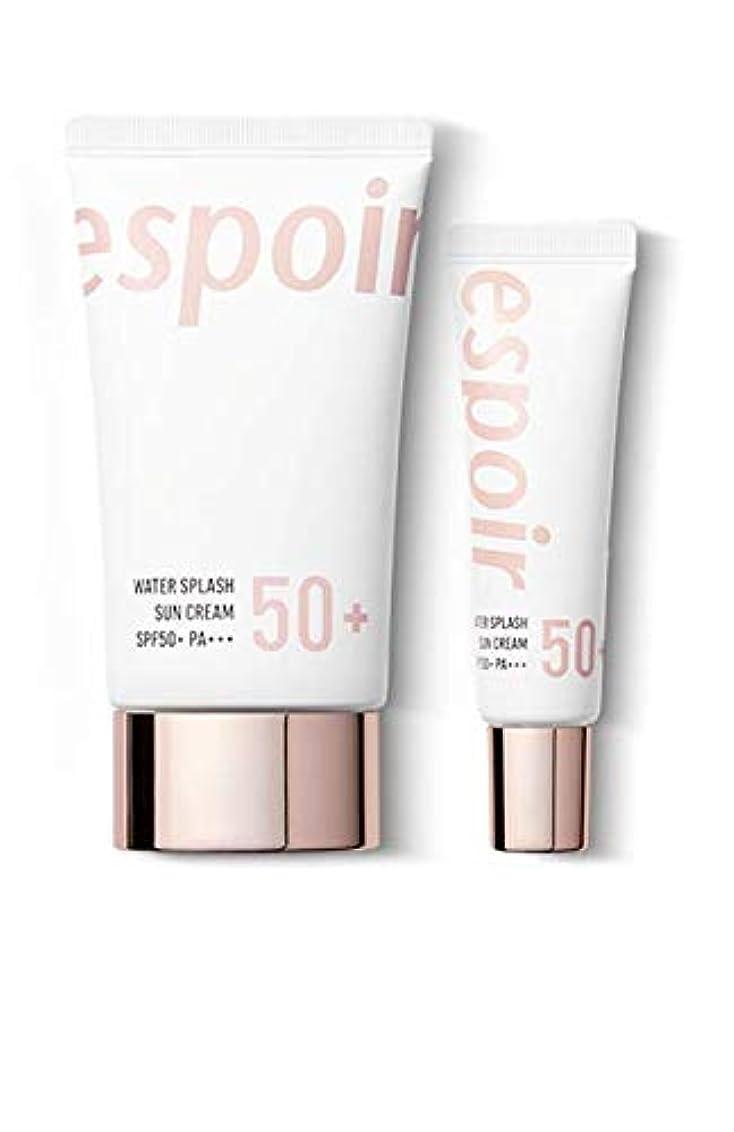 面積敬な一掃するeSpoir Water Splash Sun Cream SPF50+PA+++ (R) / エスポワール ウォータースプラッシュ サンクリーム 60ml +20ml