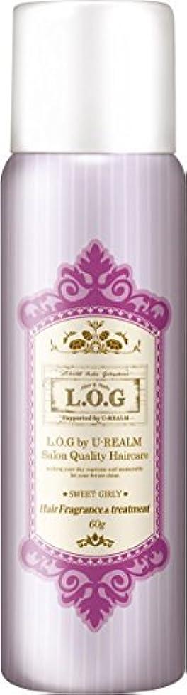 届ける王室たらいL.O.G ヘアフレグランス&トリートメントスプレー スイートガーリー 60G