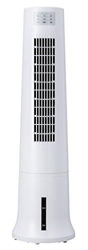 スリムタワー冷風扇 「アクアスリムクール」 ホワイト EFT-1600WH