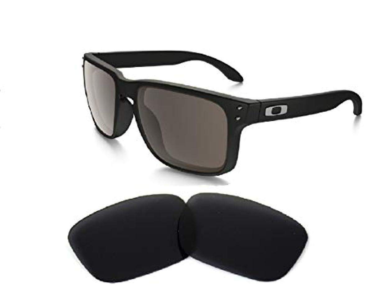 タック白菜本当にGalaxy Oakley Holbrook Sunglasses Interchangeable lens Black Color Polarized