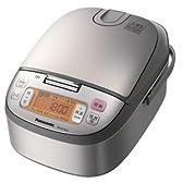 パナソニック IHジャー炊飯器(5.5合炊き) シルバーPanasonic SR-HC101のJoshinオリジナルモデル SR-HC10J9-S