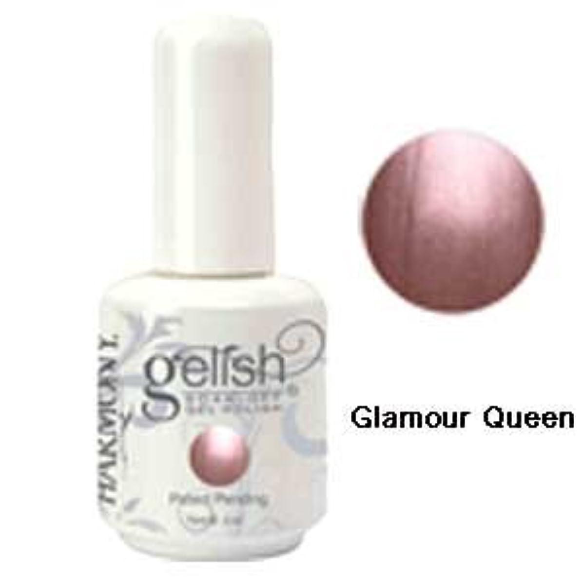 不健全気性会話Harmony gelishソークオフジェル-Glamour Queen 15ml [海外直送品][並行輸入品]
