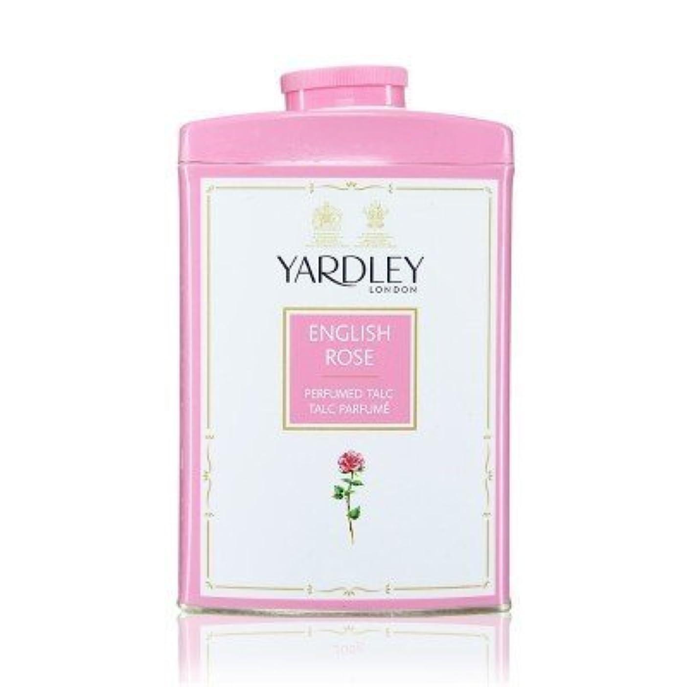 化学薬品部分ポルティコYardley English Rose Perfumed Talc, 250 g by Yardley [並行輸入品]
