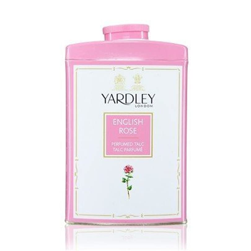 燃やす水っぽい近傍Yardley English Rose Perfumed Talc, 250 g by Yardley [並行輸入品]