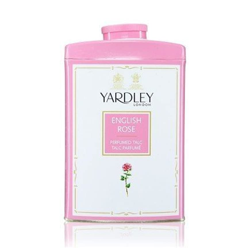 事務所一般化する苗Yardley English Rose Perfumed Talc, 250 g by Yardley [並行輸入品]