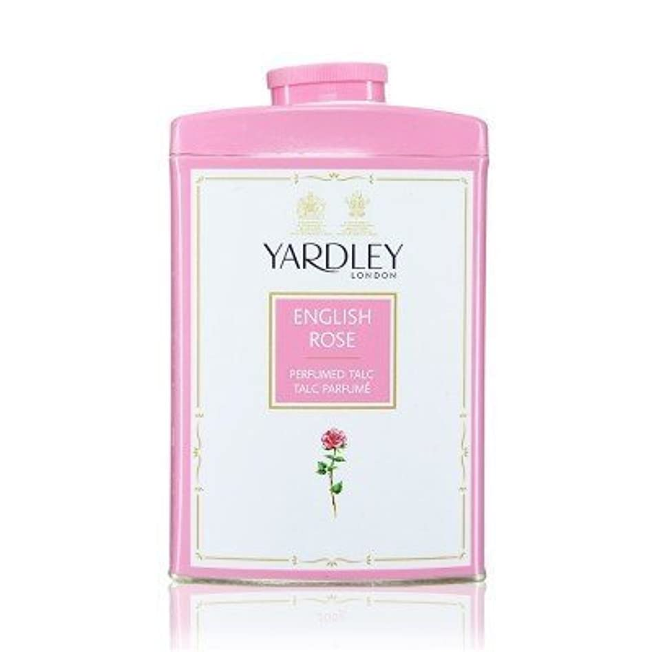 注ぎます悲しみ剥ぎ取るYardley English Rose Perfumed Talc, 250 g by Yardley [並行輸入品]