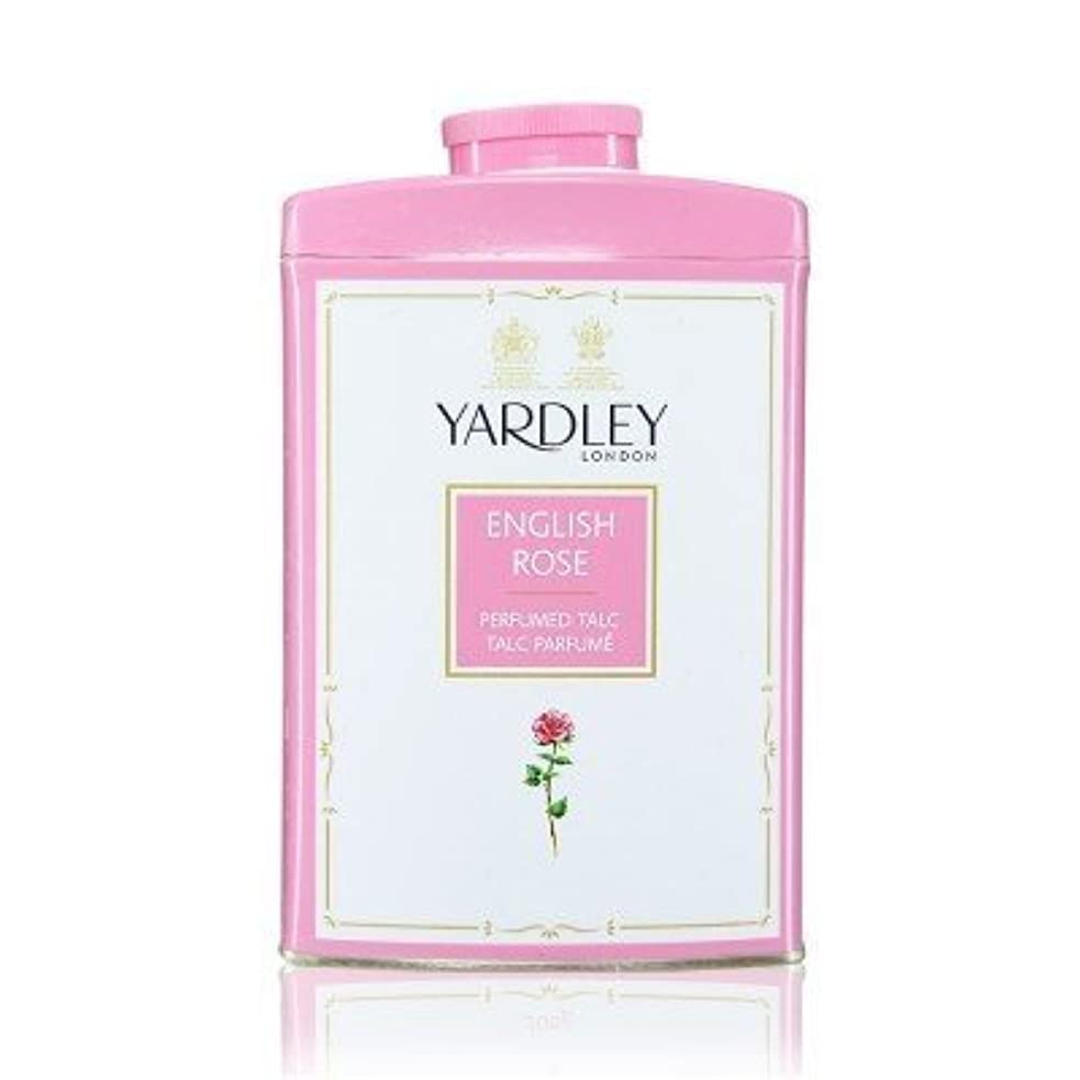 符号ポンプ屋内Yardley English Rose Perfumed Talc, 250 g by Yardley [並行輸入品]