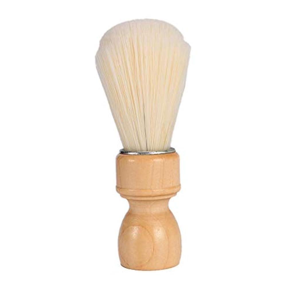 支配的アセンブリバルクPowlancejp シェービング用ブラシ メンズ用 理容洗顔 髭剃り 泡立ち ナイロン サロン道具