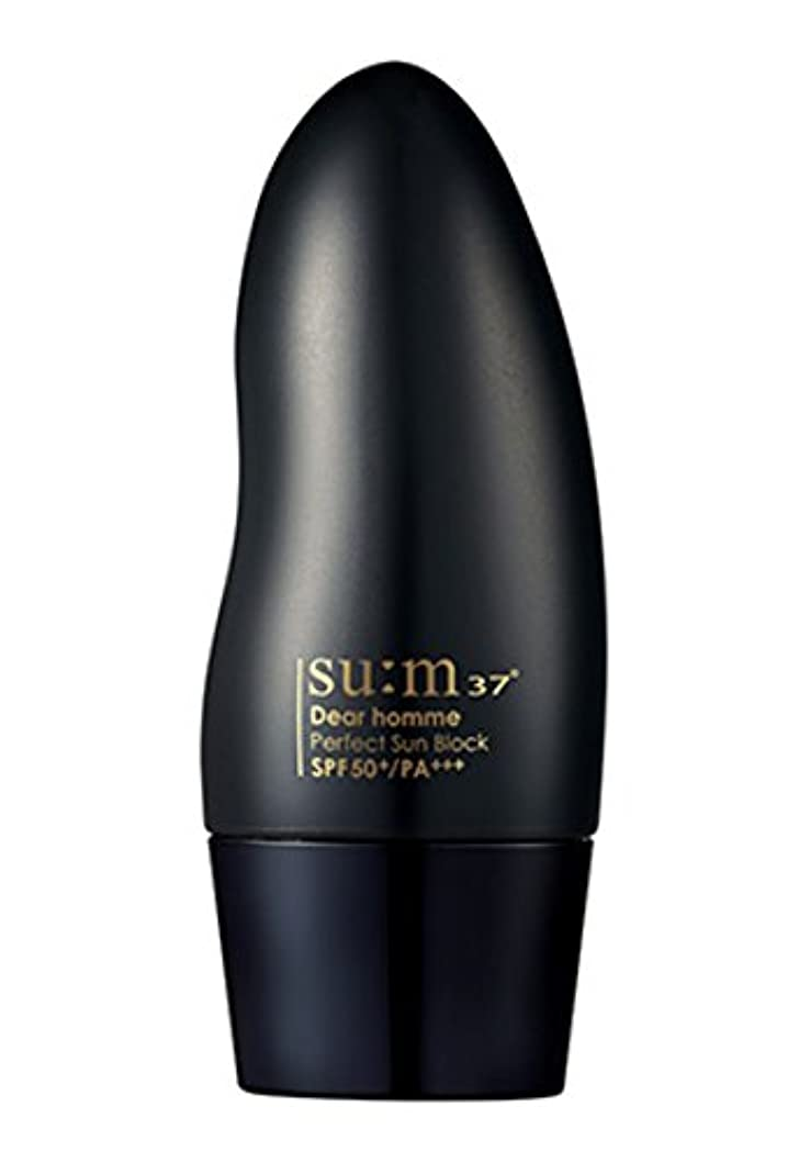 [New] su:m37° Dear Homme Perfect Sun Block (SPF50+ PA+++) 50ml/スム37° ディアオム パーフェクト サンブロック (SPF50+ PA+++) 50ml