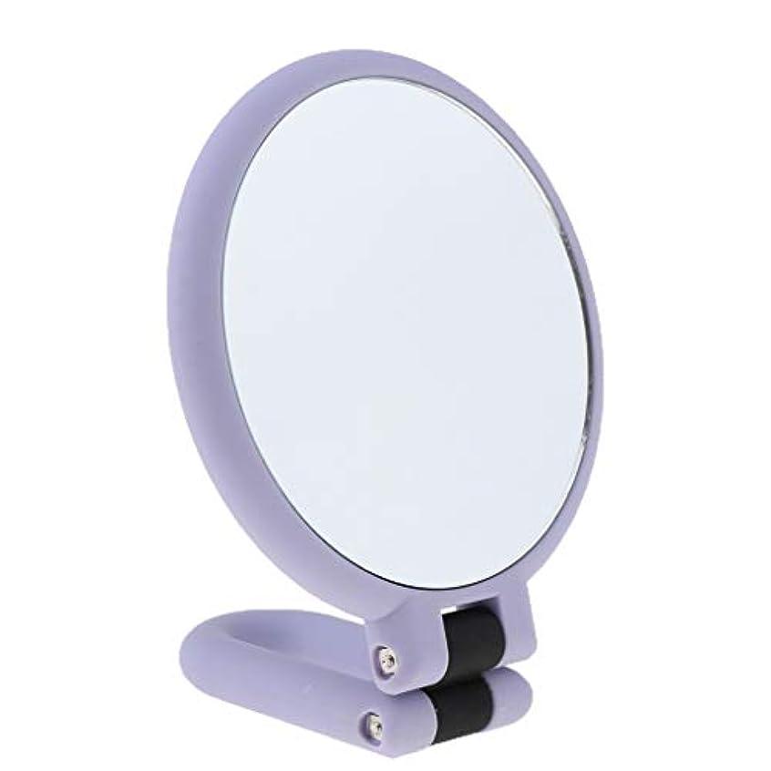 終わり風刺出席化粧鏡 拡大鏡 卓上ミラー 折り畳み式 両面ミラー メイクミラー 3サイズ - 15倍の拡大鏡