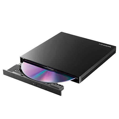 アイオーデータ 外付け DVDドライブ 薄型ポータブル 国内メーカー/USB3.0/バスパワー/Win/Mac/ EX-DVD04K