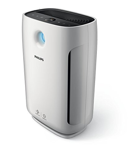 Philips Series 2000 Air Purifier with AeraSense Technology & 3 Auto Modes, White, AC2887/70