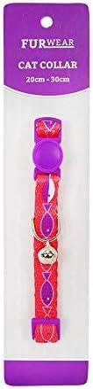 Furwear Fashion Cat Collar, Pink