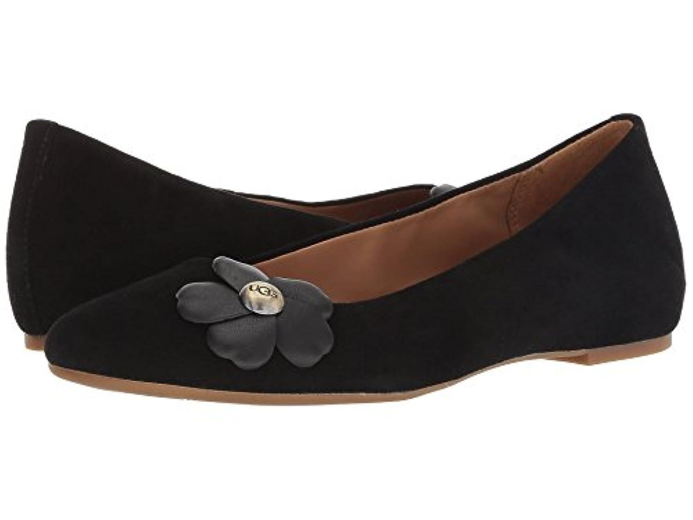 [UGG(アグ)] レディースフラットシューズ?スリッポン?靴 Thea Poppy Black 9 (26cm) B - Medium
