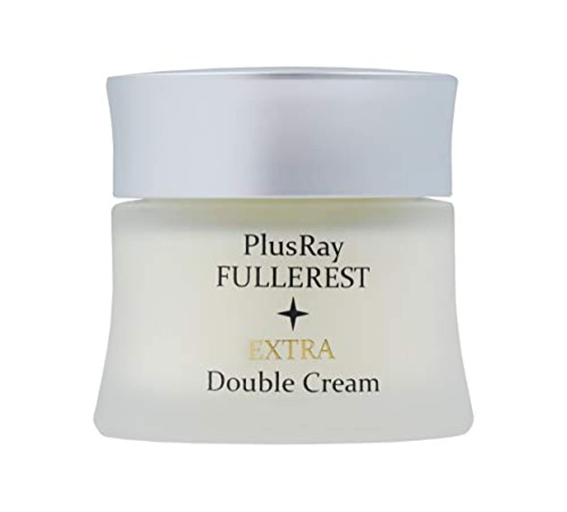 ガムみすぼらしい小切手PlusRay(プラスレイ) フラーレストエクストラダブルクリーム 40g