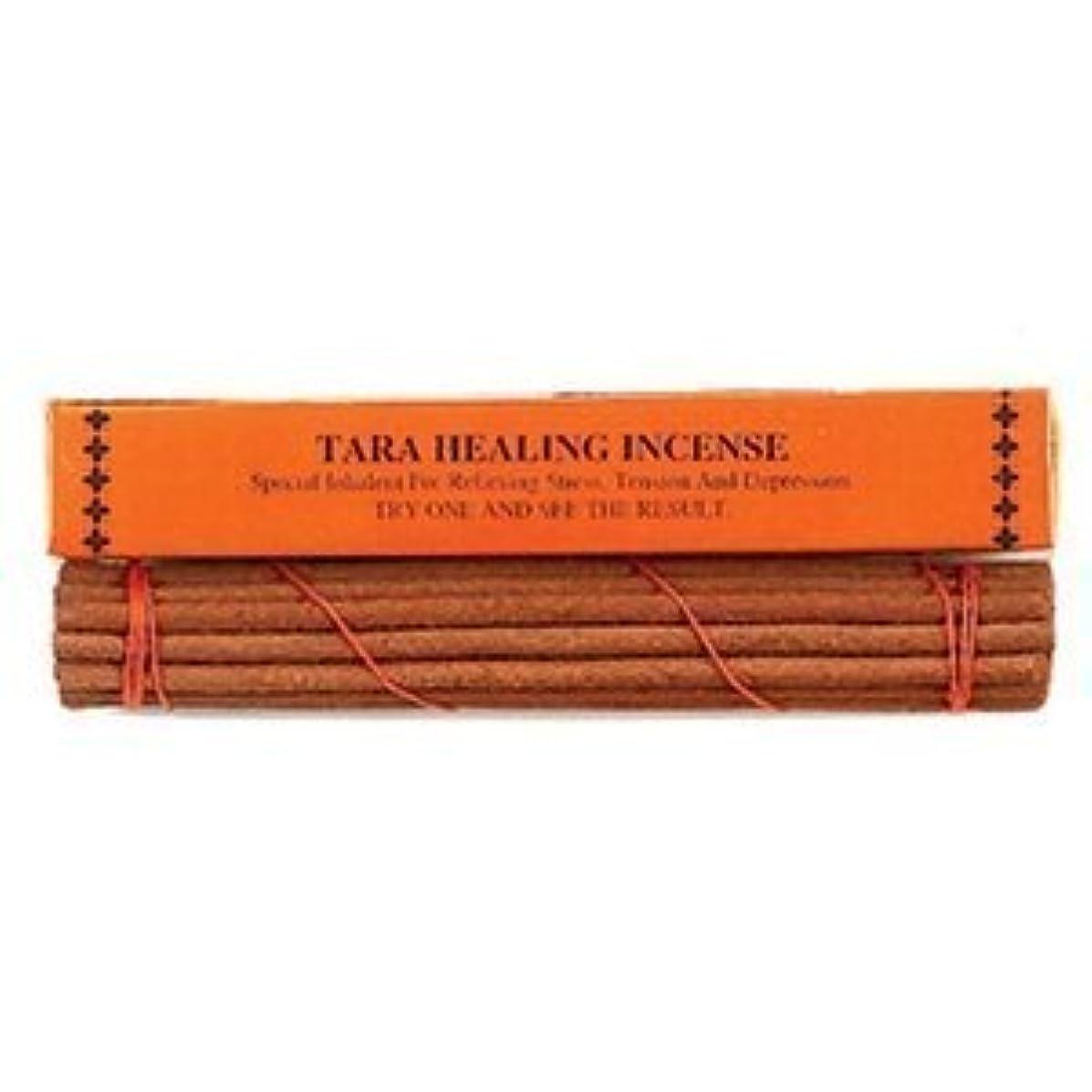 オーバーフロー賢明な小さなTara Healing Tibetan Incense Sticks by Om Imports