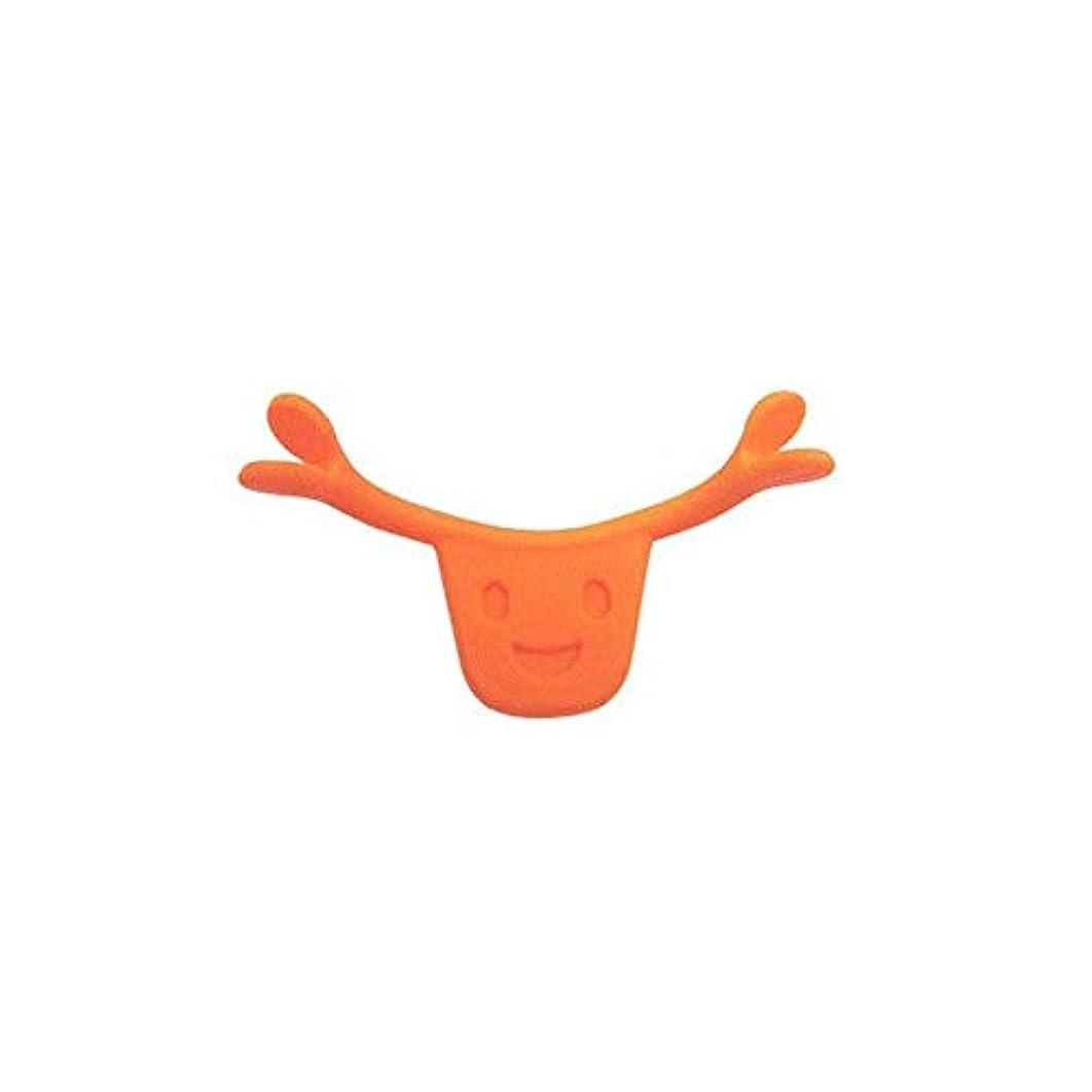 スクラッチ想起小さいポータブルサイズ男性女性本格的な魅力的なスマイルブレース口唇エイドスマイルフェイストレーニングコレクターフェイスライフツール(Color:orange)