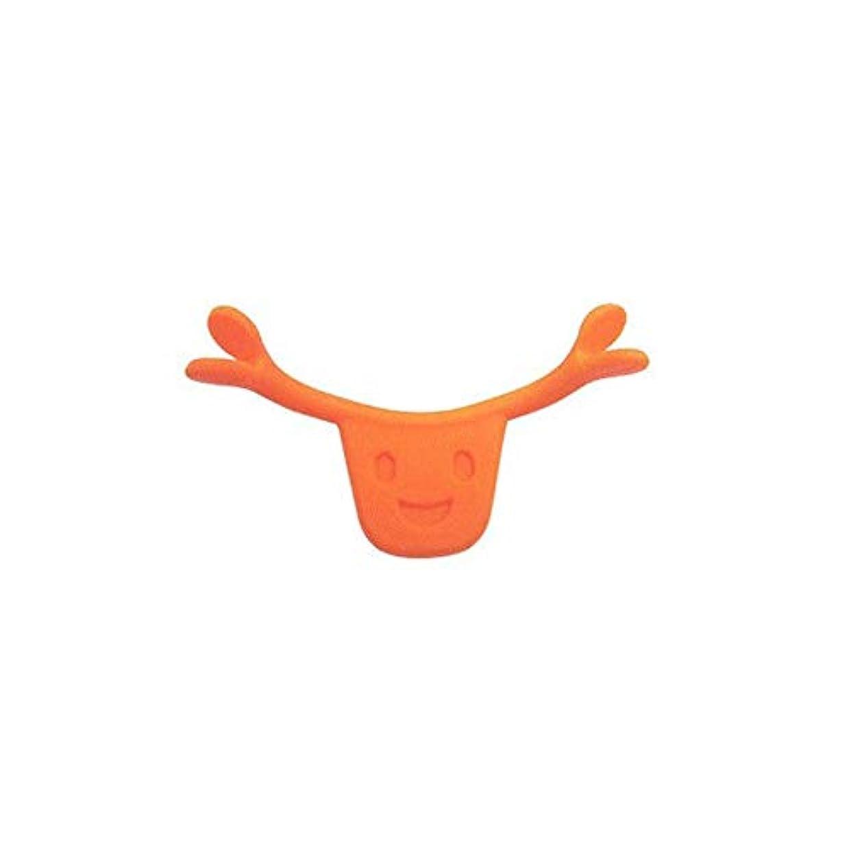 剣乳白同盟ポータブルサイズ男性女性本格的な魅力的なスマイルブレース口唇エイドスマイルフェイストレーニングコレクターフェイスライフツール(Color:orange)