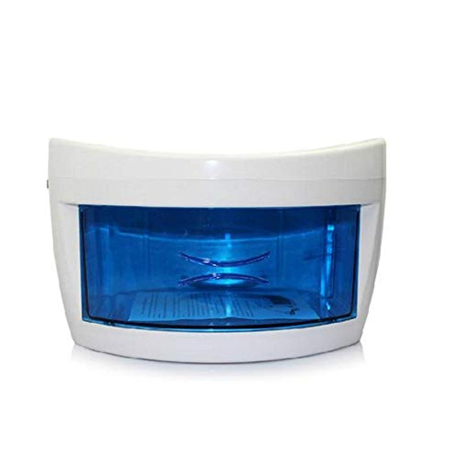 ぼんやりした幻滅する含意専門の卓上の紫外線紫外線用具の滅菌装置のキャビネット、釘用具の付属品の滅菌装置の美容院のための高温クリーニング機械