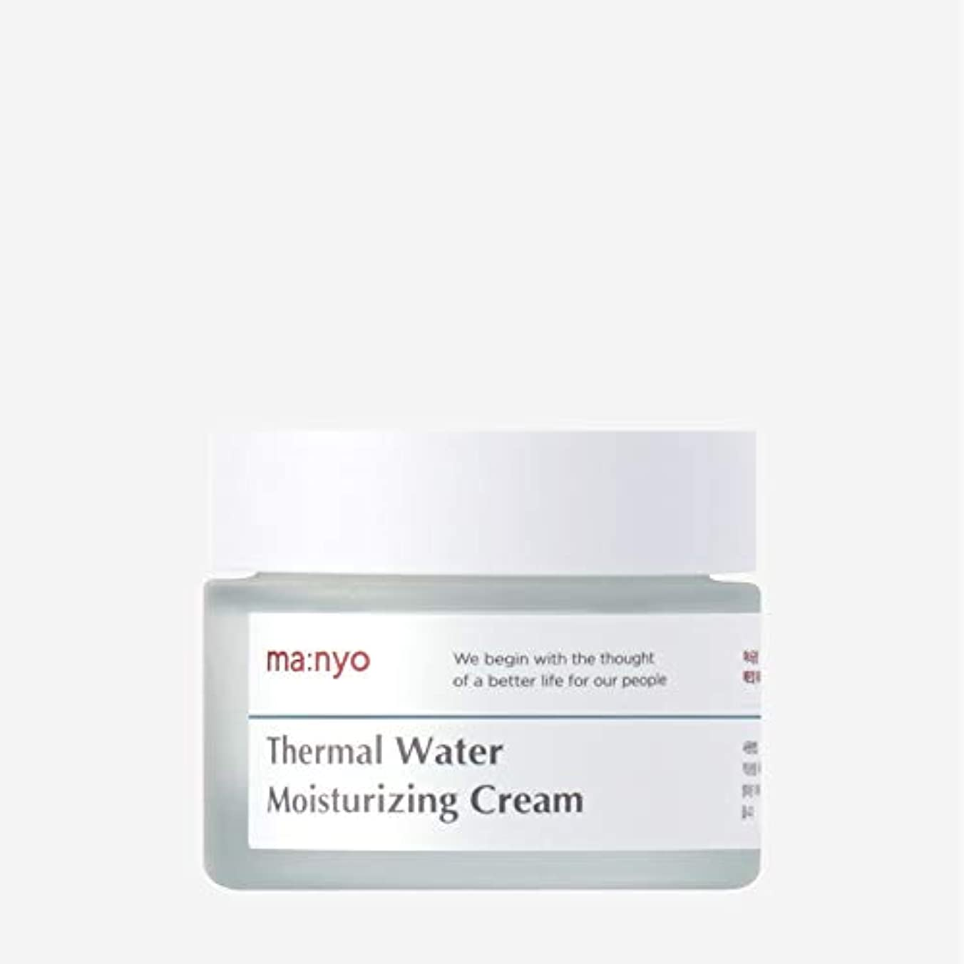 意識的着服重要魔女工場(Manyo Factory) 温泉水ミネラルクリーム 50ml / 天然ミネラル、チェコ温泉水67%で保湿補充
