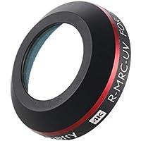DJI Proのプラチナドローンカメラの偏光レンズ部品のための超軽量ミニ調整可能なUVレンズフィルター(色:黒)