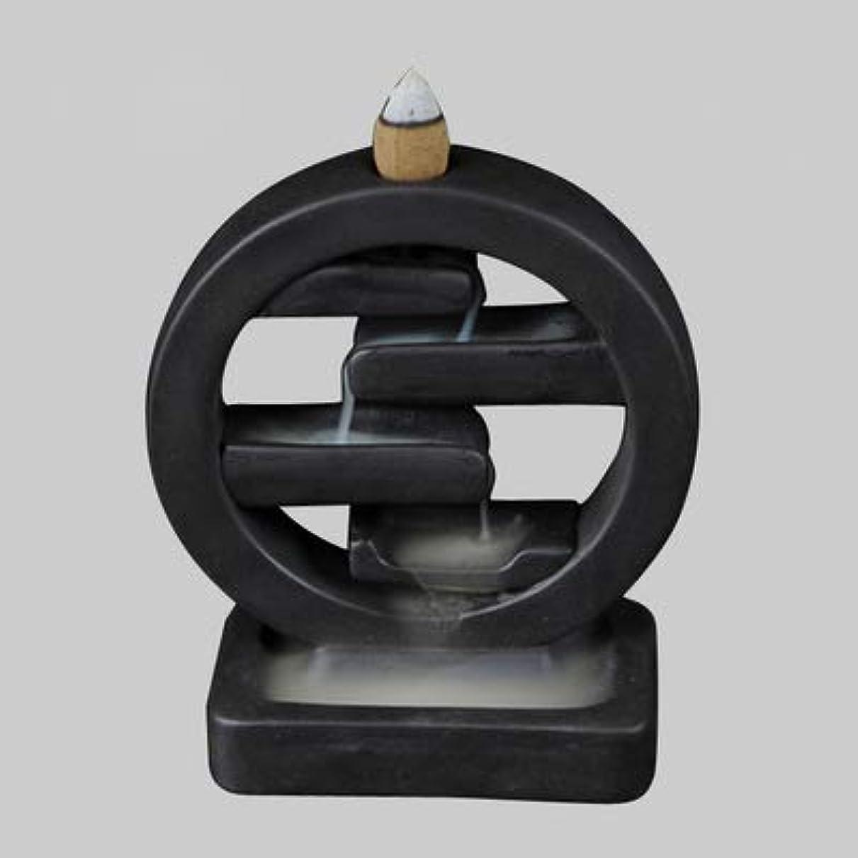 流出しっかり軍団PHILOGOD クリエイティブスタイリング陶器香炉 仏壇用逆流香 倒流香 香皿