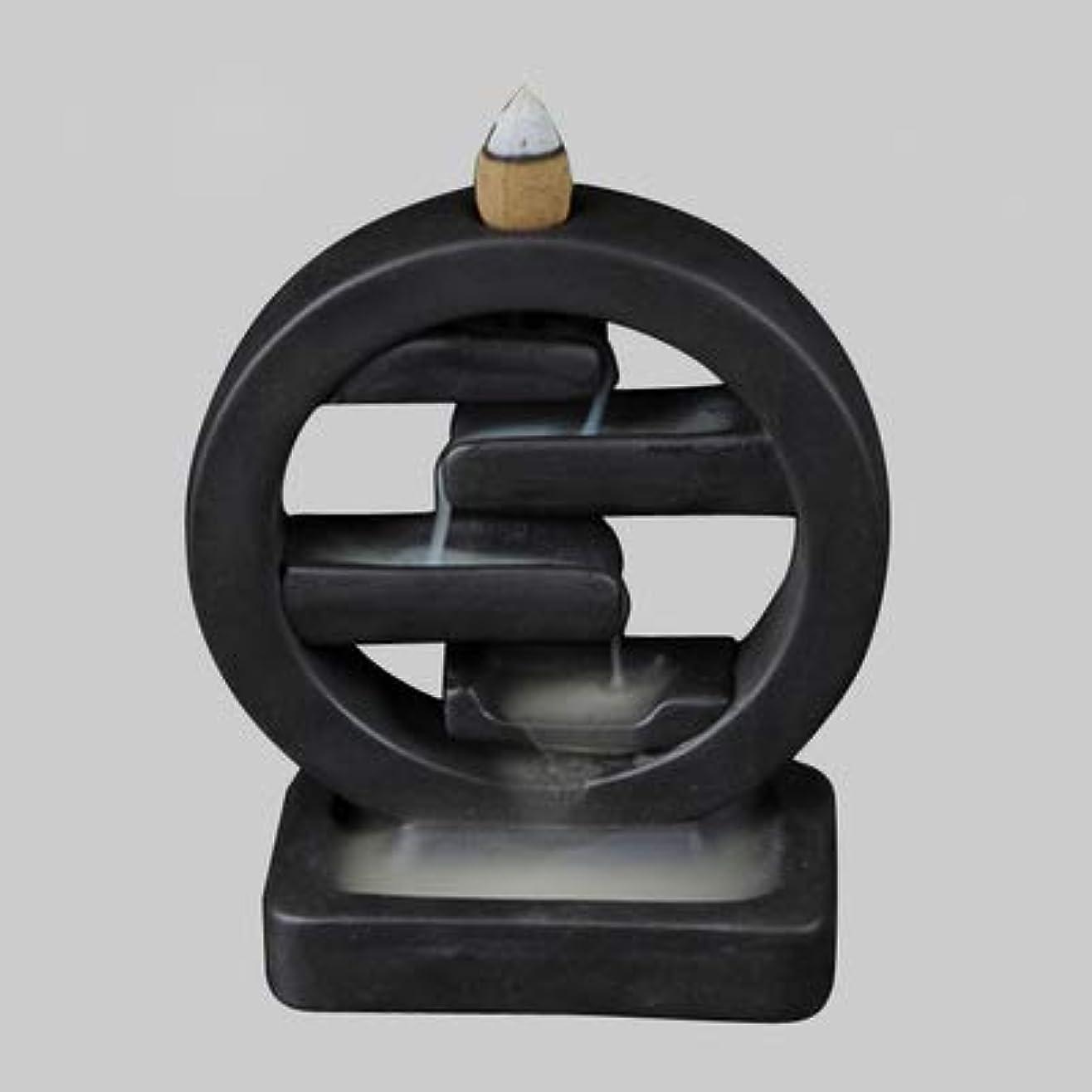 限られたの間に再撮りPHILOGOD クリエイティブスタイリング陶器香炉 仏壇用逆流香 倒流香 香皿