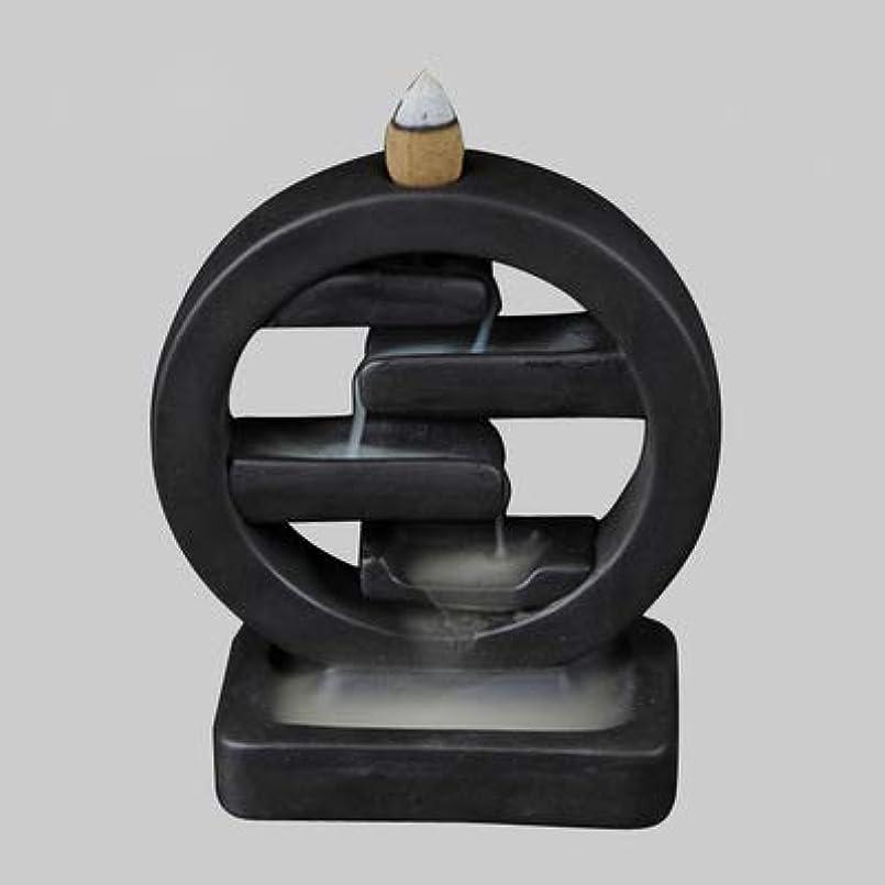 実証する気候の山ボーナスPHILOGOD クリエイティブスタイリング陶器香炉 仏壇用逆流香 倒流香 香皿