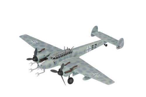コーギー 1/72 メッサーシュミット Bf-110G-4 G9 W Schnaufer St Trond 1944