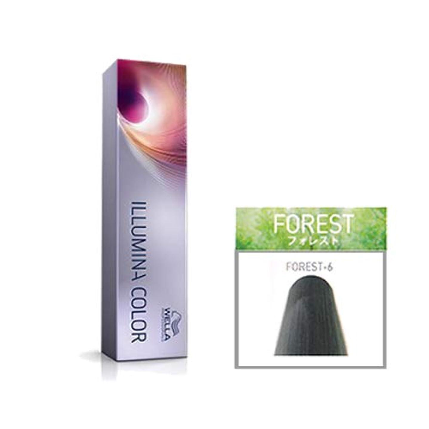 襟摂氏度森ウエラ プロフェッショナル イルミナ カラー フォレスト FOREST-6 80g