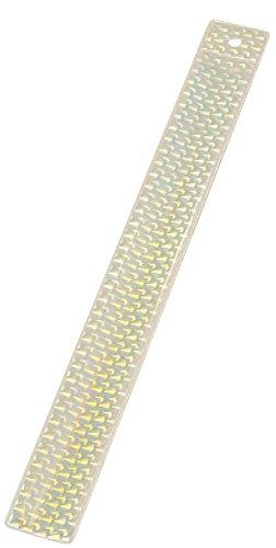 [해외]산 에스 기연 안전 대책 반사 손목 밴드 3D 다이아몬드 무늬 흰색 GS010/Sansei Giken safety measure reflection list band 3D diamond pattern white GS 010