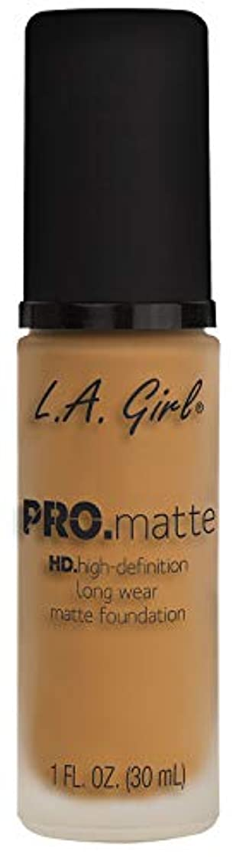 童謡画家前部L.A. GIRL Pro Matte Foundation - Espresso (並行輸入品)