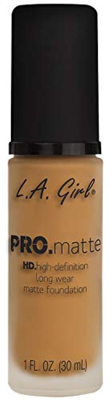 むしろ鉄これまでL.A. GIRL Pro Matte Foundation - Espresso (並行輸入品)