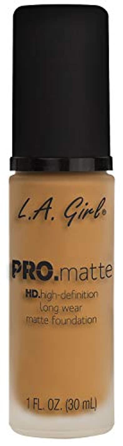 受付汚す流体L.A. GIRL Pro Matte Foundation - Espresso (並行輸入品)