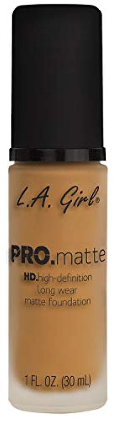 全滅させる極端な雑草L.A. GIRL Pro Matte Foundation - Espresso (並行輸入品)